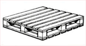 Fully Reversible Pallets